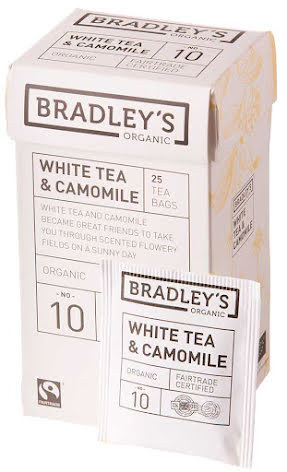 Vitt te med kamomill – Bradley´s