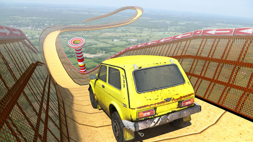Screenshot for Mega Ramp Car Stunts Free in United States Play Store