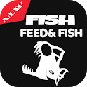 Guide for fish feed and grow icon