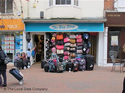The Bag Shop Weymouth on St. Mary Street - Luggage Shops in ...