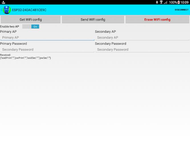 ESP32 WiFi setup over BLE or Bluetooth Serial APK | APKPure ai