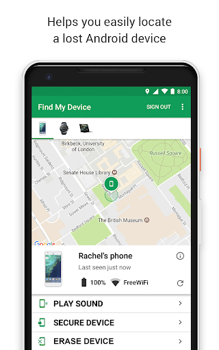 Google Find My Device 2.3.008 screenshots 1