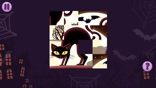 Fifteen Puzzle - Halloween