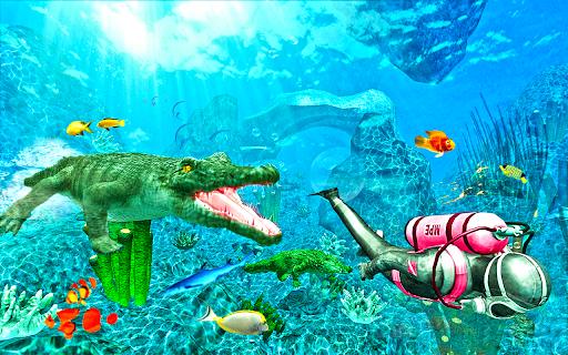 Hungry Crocodile Simulator Attack 1.2 screenshots 1