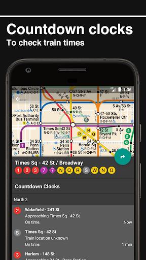 New York Subway u2013 Official MTA map of NYC  screenshots 5