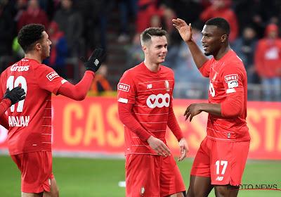 Oularé poeiert Standard naar de overwinning en voorbij Antwerp in de stand
