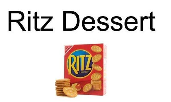 Ritz Dessert Recipe