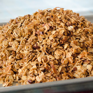 Homemade Coconut Pecan Granola