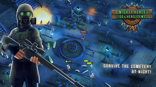 Last Hope TD - Zombie Tower Defense with Heroes screenshot