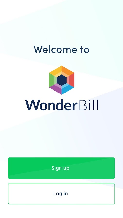 WonderBill- screenshot
