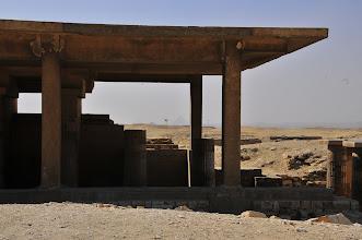 Photo: Giza view from Saqqara