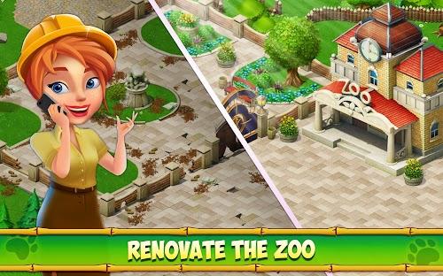 Screenshot 1 Family Zoo: The Story 1.5.1 APK MOD