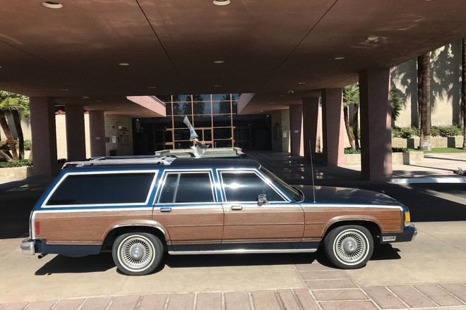 Beautiful 1991 Ford Crown Victoria Country Squire woody wagon Hire CA