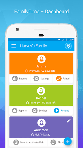 FamilyTime Parental Controls & Screen Time App  screenshots 1