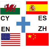 Bible Read Welsh Spanish English Chinese Jianti