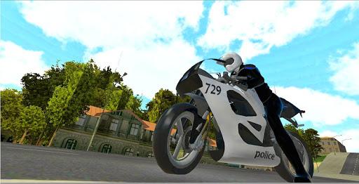 Police Bike Stunt 3D