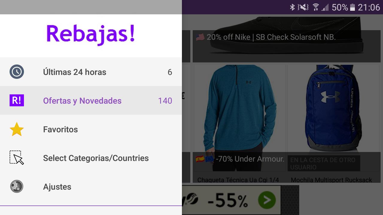 Rebajas Comprar Ropa Marcas Y Ofertas Apl Android Di Google Play # Muebles Vibbo Malaga