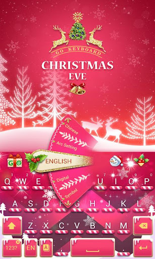 Christmas Eve GOKeyboard Theme