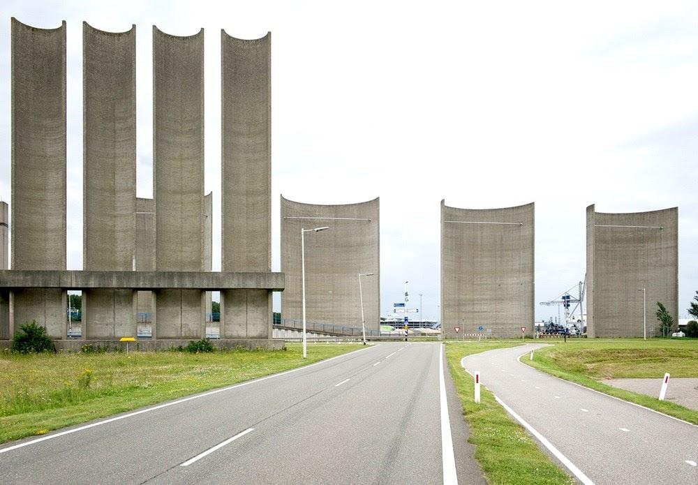 A parede de vento de Rozenburg
