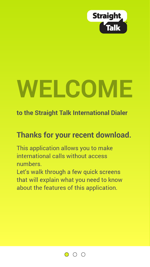 Straight Talk International - screenshot
