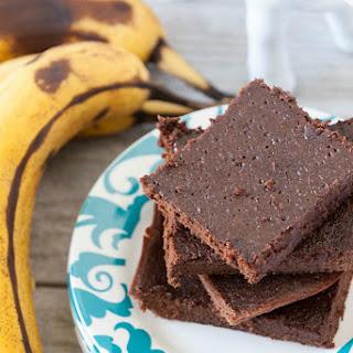 Dark Chocolate Banana Brownies
