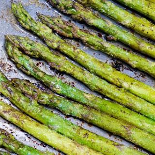 Garlic Balsamic Roasted Asparagus.