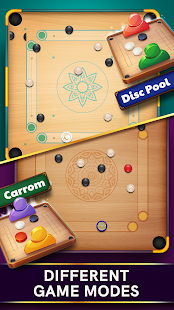 Disc Pool Carrom Screenshot