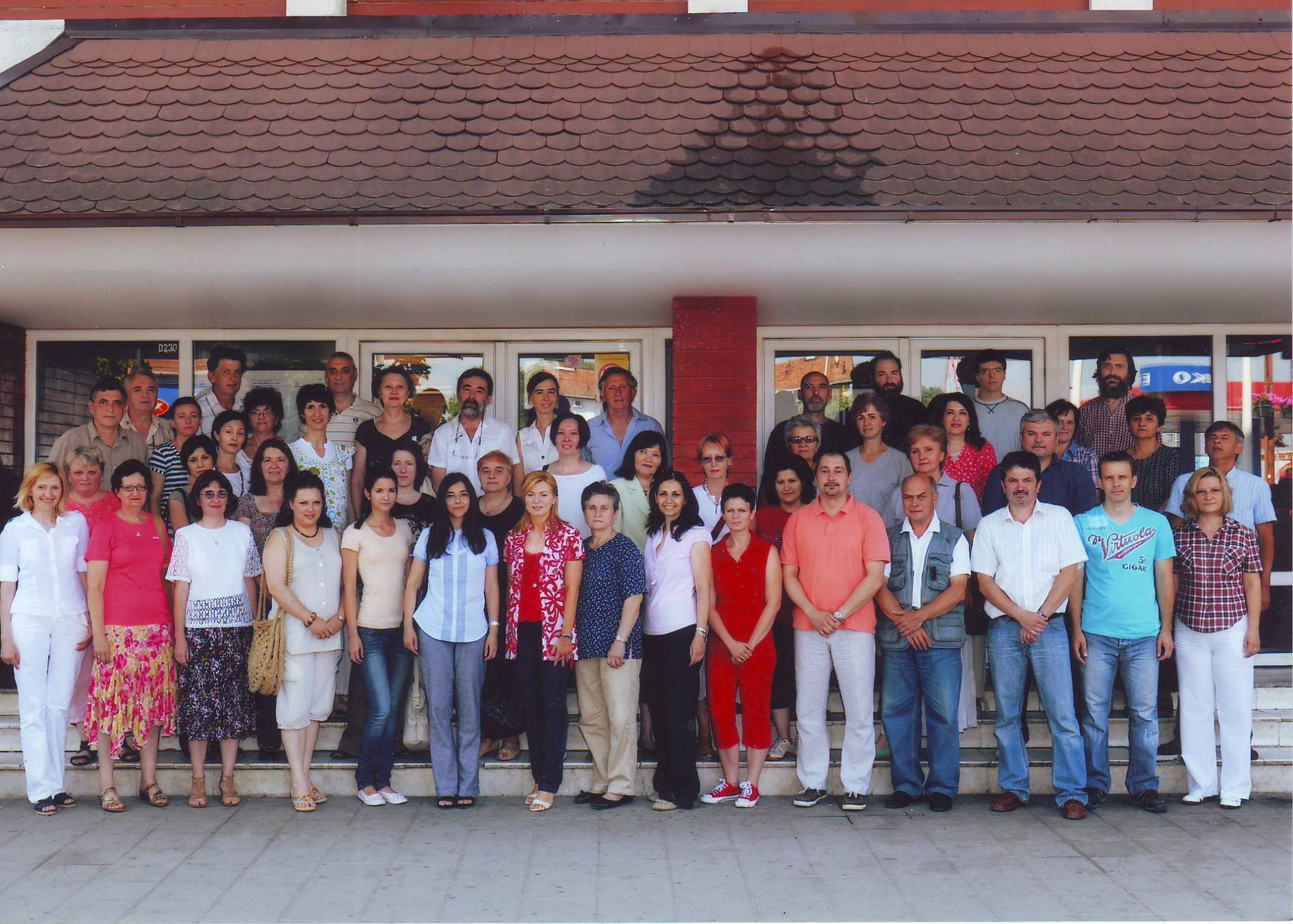 Photo: Колектив Школе, јун 2012.