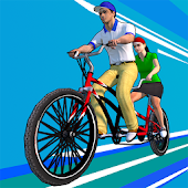 3D bicycle racing