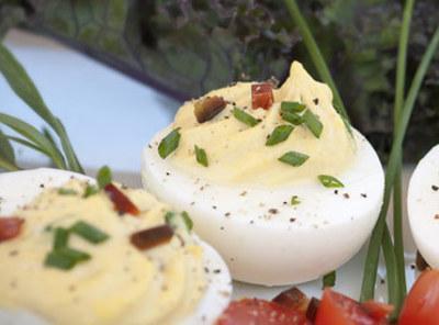 Bacon Deviled Eggs Recipe