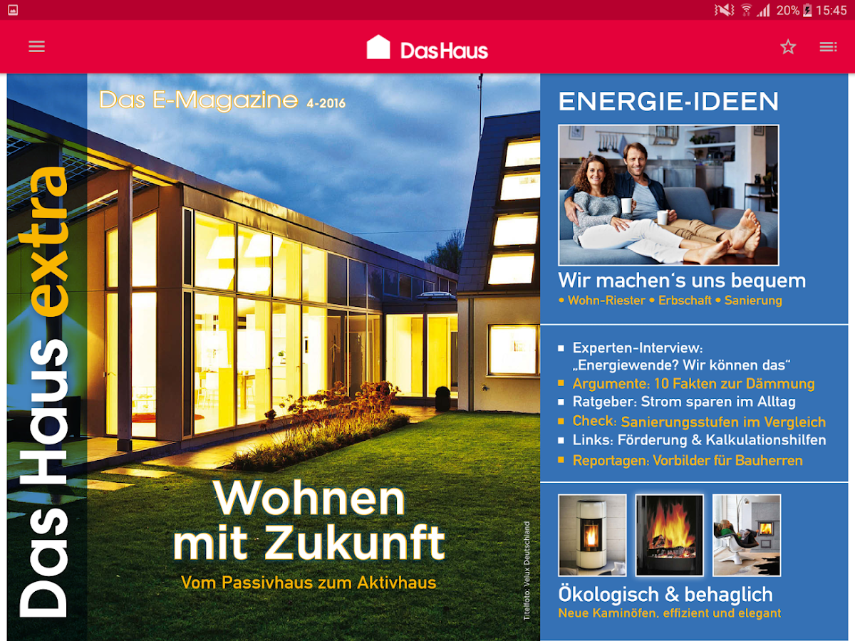 Das haus digital screenshot