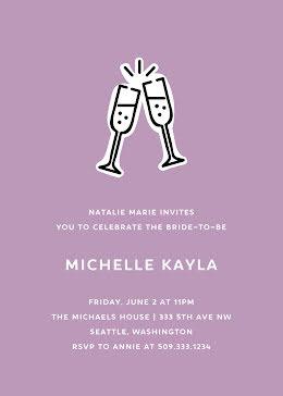 Michelle's Bridal Shower - Bridal Shower Invitation item
