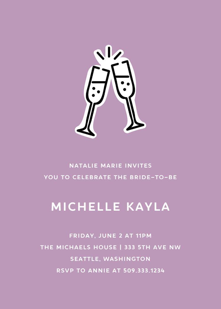 Michelle's Bridal Shower - Bridal Shower Template
