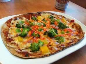 Photo: Veggie Flatbread Pizza