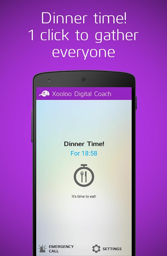 Xooloo Digital Coach- screenshot