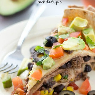 Crockpot Enchilada Pie