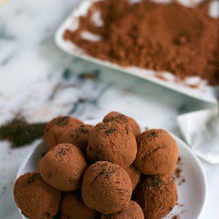 Vegan Earl Grey Chocolate Truffles