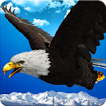 Wild Eagle Bird Simulator Icon