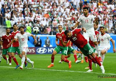 Aziz Bouhaddouz (Marokko) was de grote schlemiel van de tweede WK-dag