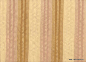Photo: Kanpur 02 Stripes - 100% Silk Taffetta