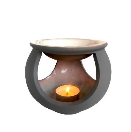 Aromalampa Lightbowl Grå