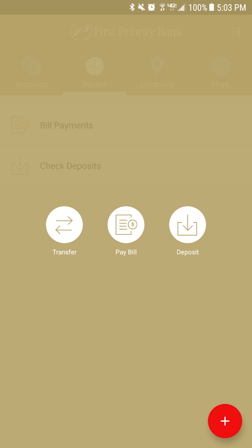 First Priority Mobile Banking- screenshot