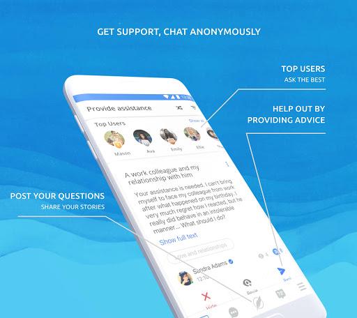 Helpcare - mental health chat Psychological help 7.4.0 screenshots 1