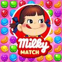 ミルキーマッチ:ペコちゃんパズルゲーム