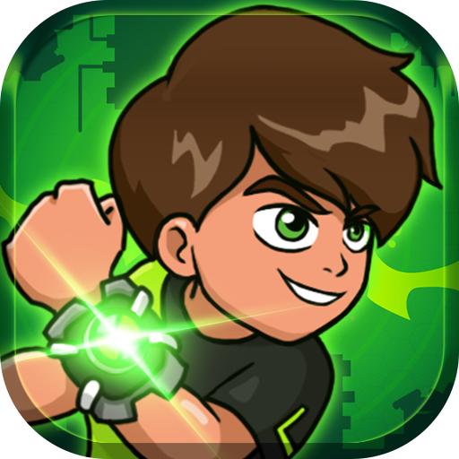 Hero kid - Ben Alien Ultimate Power Surge