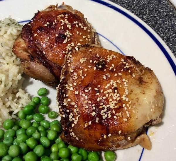 Asian Chicken Thighs Recipe: Asian Tangerine Chicken Thighs Recipe