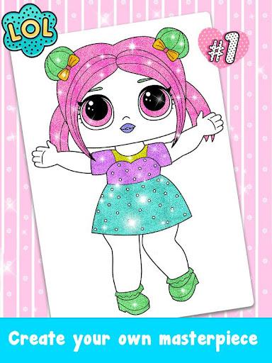 Glitter Dolls Coloring Book ?????? cheat hacks