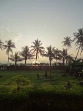 Photo: levé de soleil à Pondy 6h30