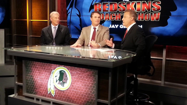 Watch Redskins Coach's Show live