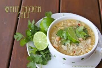 Crockpot Magic… White Chicken Chili